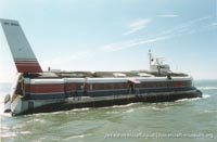 SRN4 Swift (GH-2004) at the Hovercraft Museum -   (The <a href='http://www.hovercraft-museum.org/' target='_blank'>Hovercraft Museum Trust</a>).